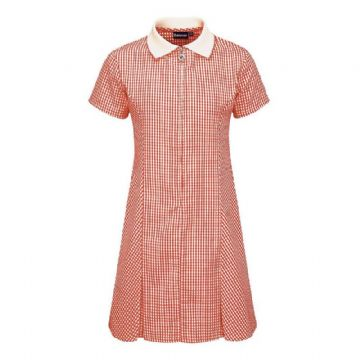 NOSS PRIMARY SCHOOL RED GINGHAM DRESS